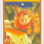 bundi_krishna_gopika_dance, Rajasthani Paintings - Krishna enjoying the dance of gopis, Bundi, circa 1700 A.D., National Museum, New Delhi