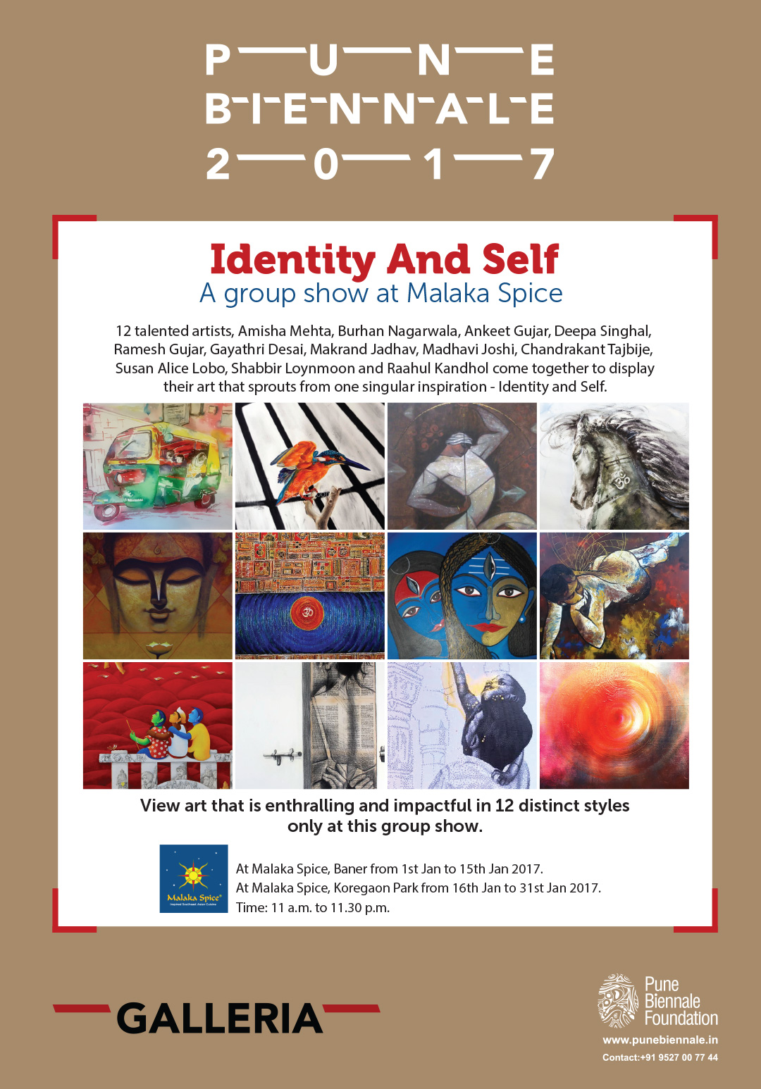 Pune Biennale, Identity And Self, Malaka Spice