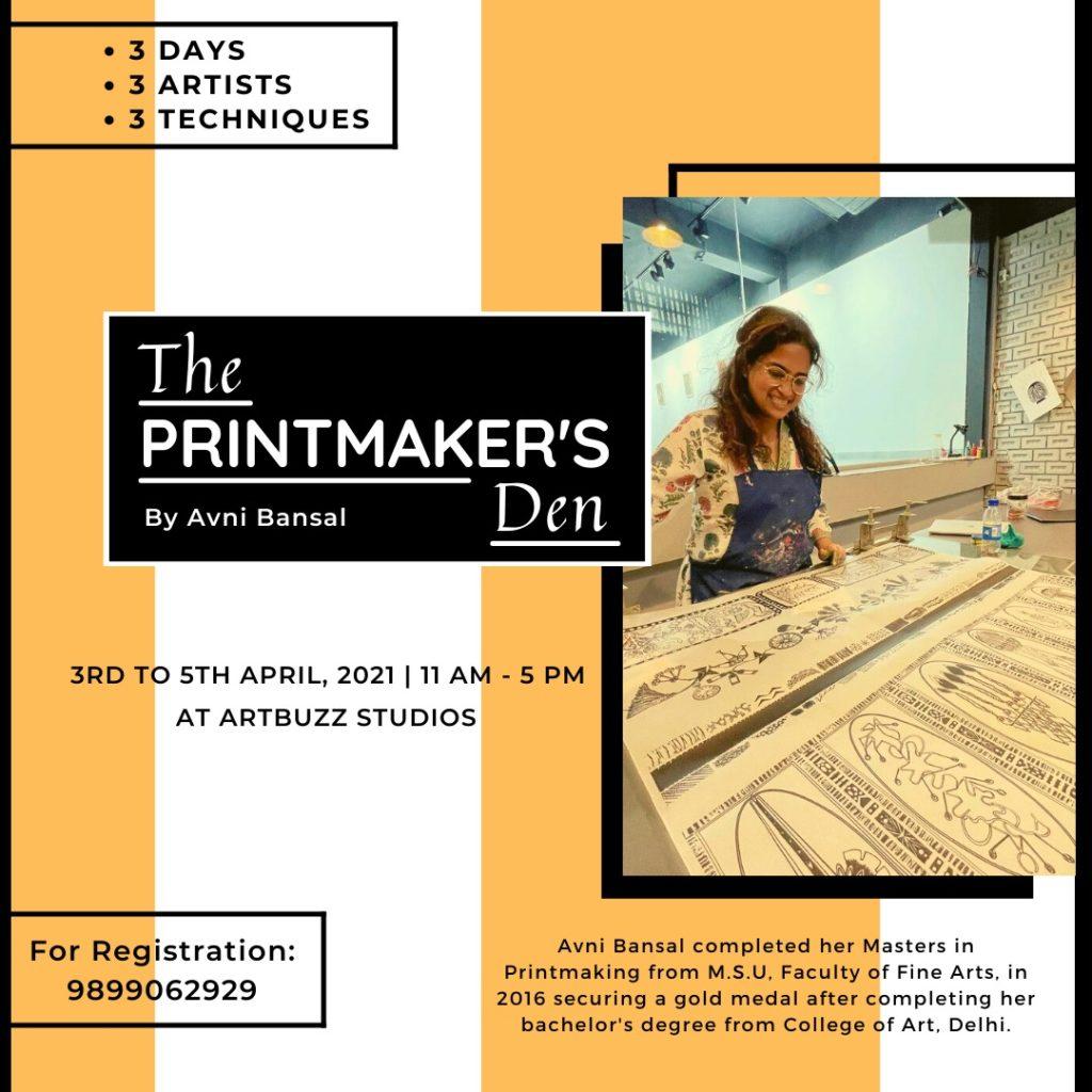 Printmaker's Den - Avni Bansal