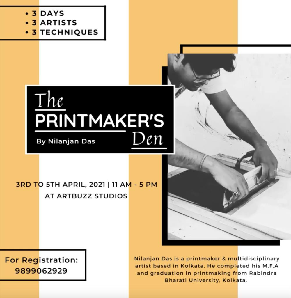 Printmaker's Den - Nilanjan Das